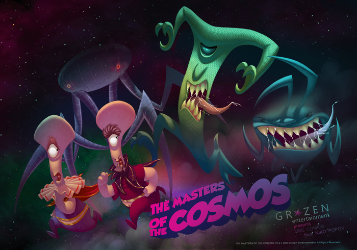 Masters of the Cosmos Comic Book